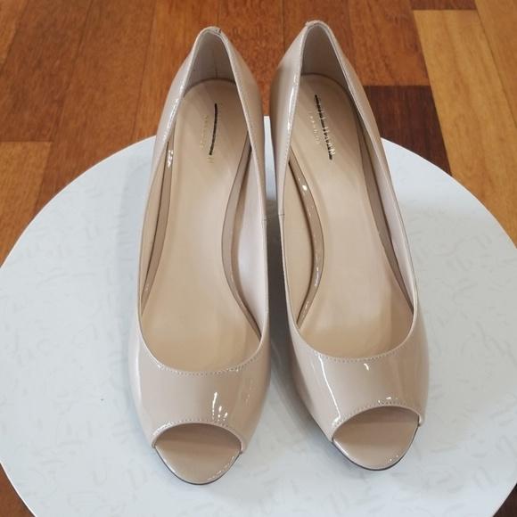 84806ad563ee Cole Haan Shoes - Cole Haan Sadie open toe wedge pumps
